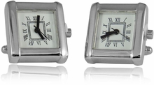 Working Silver Watch Cufflinks
