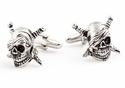 Skull & Swords Cufflinks
