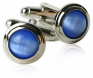 Sky Blue Cufflinks (DISCONTINUED)