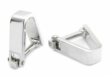 Smooth V Cufflinks