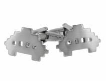 Space Invaders Video Game Cufflinks