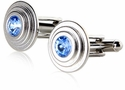 Stacked Crystal Cufflinks