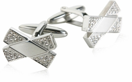 Stainless Steel Crystal Bowties