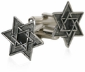 Star of David Cufflinks