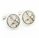 Steampunk Cufflinks (Non-Moving)