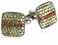 Sterling Cuffs with Mixed Marcasite