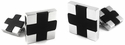 Sterling Silver Cross Cufflinks