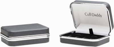 Sterling Silver Mother of Pearl Tuxedo Formal Set