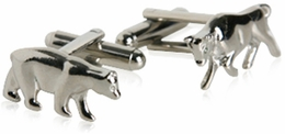 Stock Market Cufflinks