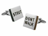 Strut Don't Walk Cufflinks