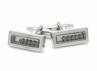 Swarovski Black Diamond Cufflinks