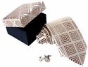 Tan Silk Necktie