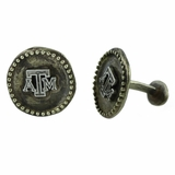 Texas A&M Sterling Silver Logo Cufflinks