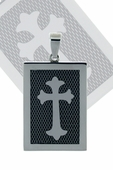 The Cross DogTag pendant