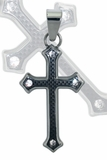 The Ultimate Black Cross Pentant