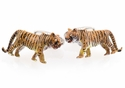 Tiger Cufflinks - Hand Painted
