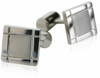 Titanium Square Cufflinks