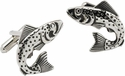 Trout Fish Cufflinks