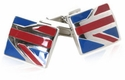 Union Jack Styled Cufflinks