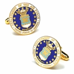 US Air Force Cufflinks - Enamel