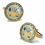 US Army Cufflinks - Enamel
