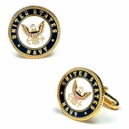 US Navy Cufflinks - Enamel