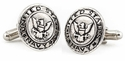 US Navy Cufflinks Silver