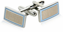 Vertical Striped Cufflinks