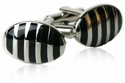 Vertigo Cufflinks in Black