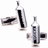 Vodka Bottle Cufflinks