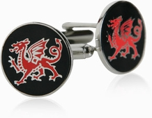 Welsh Dragons Cufflinks