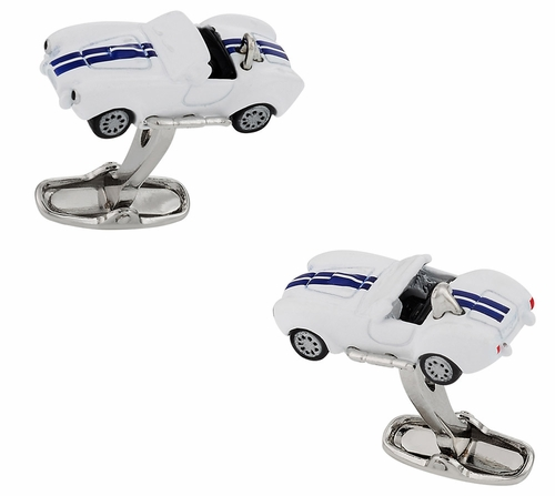 White Hot Rod Cufflinks