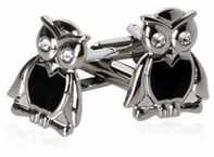 Wise Owl Cufflinks