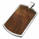 Wood Dog Tag (DISCONTINUED)