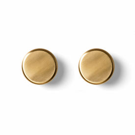 Bath Hanging Knob, Brass, 2-pack