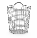 Bin 4.75 Gallons (18 Liters), Galvanized Steel