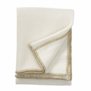 Bubbles Edge Wool Throw - 1 Left
