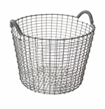 Classic Basket 6.5 Gallons (24 Liters), Galvanized Steel