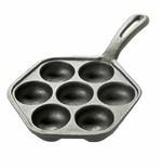 Danish Aebleskiver Pan - Cast Iron