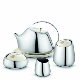 Georg Jensen Helena Tea Service - 4 pieces