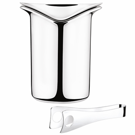 Georg Jensen Wine & Bar Ice Bucket with Tongs