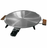 Heritage Lefse Grill with Satin Finish