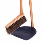 Iris Hantverk Swedish Broom and Long-Handle Dust Pan Set - 6 Colors - Ships Free!