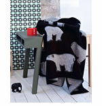 Isbjørn (Polar Bear) Wool Blanket - 3 Colors