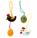 Klippan Easter Ornaments - Set of 4