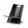 Lean Chair, Black/Melamine