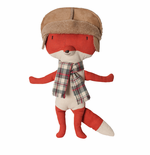 Maileg Danish Fox with Hat Toy
