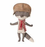 Maileg Danish Wolf with Hat Toy