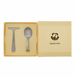 Matte Child's 2-Piece Flatware Set