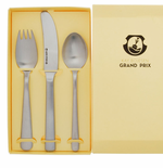 Matte Child's 3-Piece Flatware Set